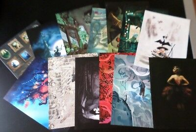 LOT exlibris Collection METAMORPHOSE 12 affiches ! Editions SOLEIL + Atom Agency