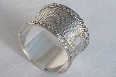 A Stunning Vintage Solid Sterling Silver Napkin Ring Sheffield 1943.