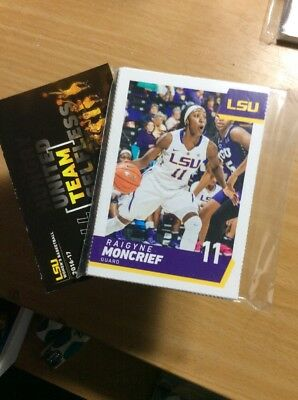 2016-17 LSU Lady Tigers Basketball Team& Pocket Schedule 24 Card Se