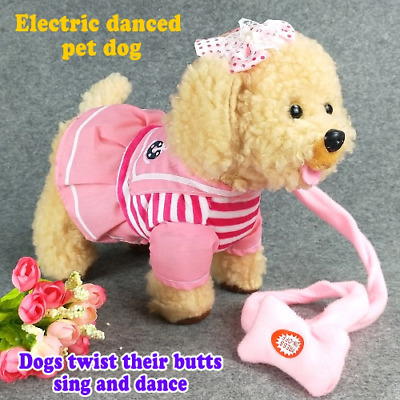 Electric Puppy Dog Interactive Walking Barking Toys Dog Pet Plush