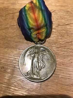 Great War Victory Medal to Pte 8-1506 J. H. Simpson, W. York's WIA 01.07.1916