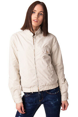 ASPESI Windbreaker Jacket Size L Lightweight Full Zip Made in Italy RRP €195