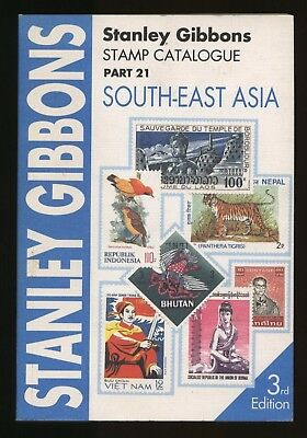 SOUTH-EAST ASIA, Stanley Gibbons Stamp Catalogue, 3rd ed 1995, Burma, Thailand..