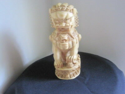 """Foo lion statue 8"""" tall one 3"""" wide"""