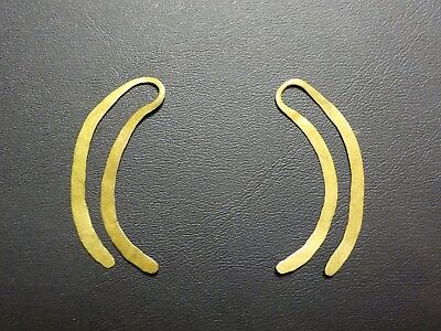 Rare Pre Columbian 22K Gold Earrings Authentic Ancient Artifacts Must See