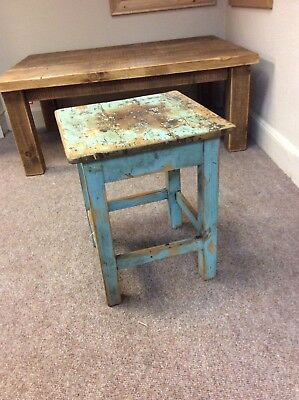 Antique Wooden Hungarian Lamp Table