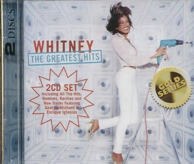 WHITNEY HOUSTON - THE GREATEST HITS on 2 CD's