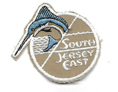 South Jersey East 2 1/4 Inches Wide Unused Patch Sailfish