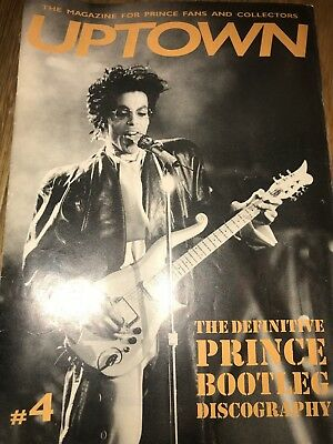 PRINCE UPTOWN ISSUE FOUR #4!-The Leading Magazine for Prince Fans and Collectors