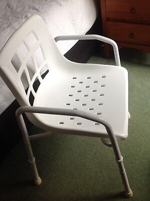 Shower Chair-Adjustable Height-Excellent Condition