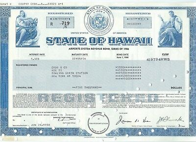 State of Hawaii, 1986