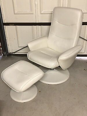 Swivel Recliner & Footstall With Heat And Massage Options - Mains Powered