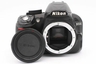 Nikon D3100 Digital SLR Camera Body Only, Charger, Manuals, Low Shutter Count