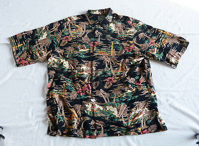 Reyn Spooner Hawaiian Traditionals Aloha Santa shirt XL