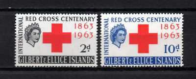 GB - UK - Colonies Gilbert and Ellice 1963  MNH Centenary Red Cross Croix Rouge