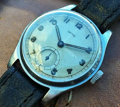 Early Vintage Smiths Gents Wristwatch