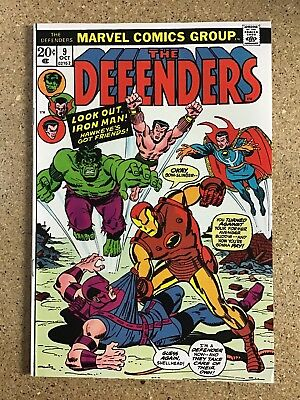 The Defenders #9 1973 Black Panther & Mantis Appearance!!!