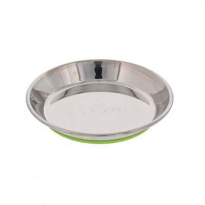 Cat Bowl Anchovy Stainless Steel Lime Rogz Anti Slip Dishwasher Safe Non Toxic