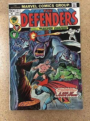 The Defenders #11 Silver Surfer Appearance (Marvel 1973)
