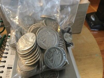 $1 Face Value 90% Silver U.S Coin Lot Half Dollars Quarters or Dimes or nickel t