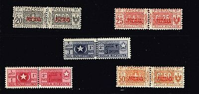 Italy Stamp  Mh/og Stamps Collection Lot  #1