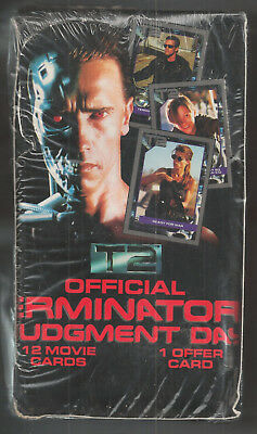 1991 Impel Terminator 2 Judgment Day Movie Box 36 Packs Sealed Premier Edition
