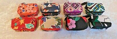 Vera Bradley Every Little Thing Case Travel Pill 3 Bottles U-Pick Color Nwt Cute