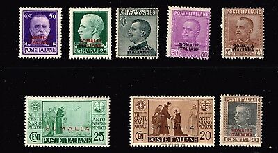 Italy Stamp  Mh/og Stamps Collection Lot  #2