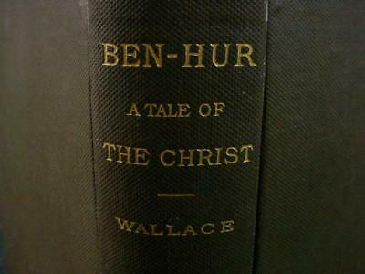 """NobleSpirit NO RESERVE {3970}Antique Edition of """"Ben Hur: A Tale of the Christ"""""""