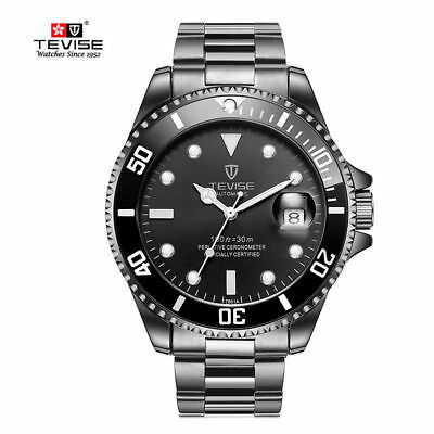 TEVISE T801 Men Automatic Mechanical Watch Fashion Waterproof Luminous Watch KIY