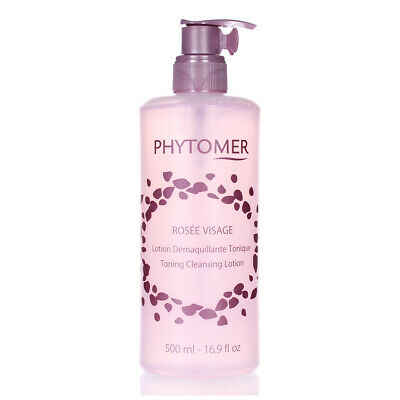 Phytomer Rosee Visage Toning Cleansing Lotion 16.9oz/500ml NEW