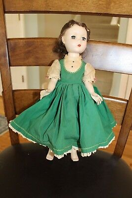 "Vintage Madame Alexander Little Women Beth Doll 14"" Tagged Dress"
