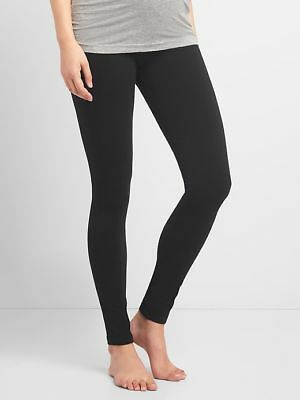 Gap Maternity Pure Body Full Panel Leggings in Black ~ NWT ~ Size Medium M