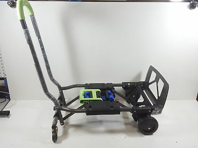 Cosco Shifter 300-Pound Capacity Multi-Position Folding Hand Truck, Green