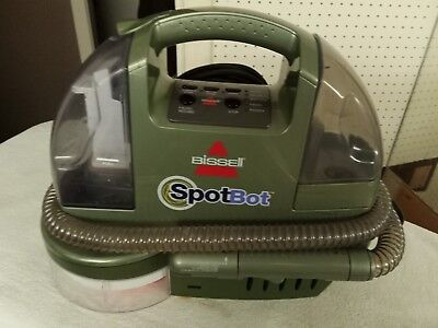 BISSELL Spotbot Pet Deluxe Portable Carpet Cleaner model 7887