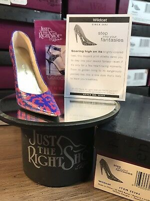 Just The Right Shoe By Raine! Signed By Raine '07! Wildcat #25384