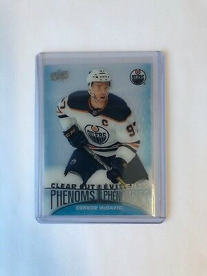 Connor McDavid Clear Cut Phenoms 18/19 Upperdeck Tim Hortons