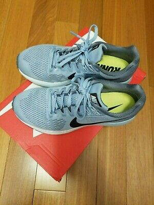 ad3dd2eef5503 Womens Nike Air Zoom Structure 21 Running Shoes Armory Blue 904701-400 Size  8
