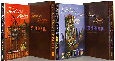 Stephen King Secretary of Dreams Vol 1, 2 Cemetery Dance Gift Editions Hardcover