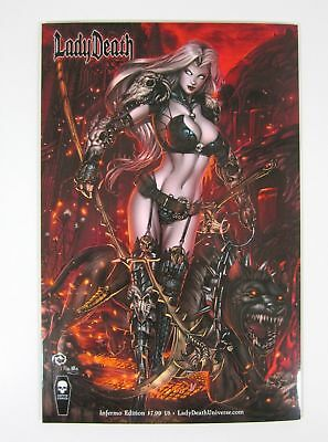 Lady Death Chaos Rules Inferno Edition NM