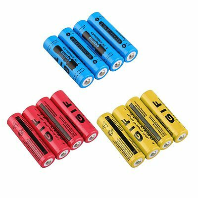 18650 3.7V 12000mAh Rechargeable Li-ion Battery for LED Torch Flashlight NEW GN