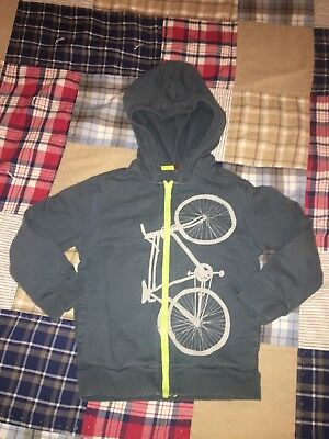 Tea Collection Boys Bike Bicycle Hoodie Size 4