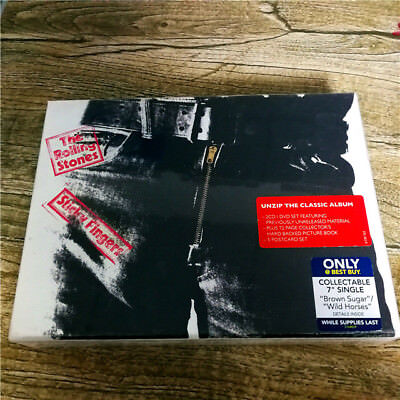 The Rolling Stones ‎- Sticky Fingers 376483-9 EU 2CD+DVD SEALED NEW