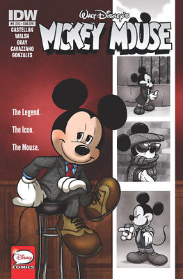 Walt Disney's Mickey Mouse #1 Amy Mebberson Variant 2015 First Printing Nm