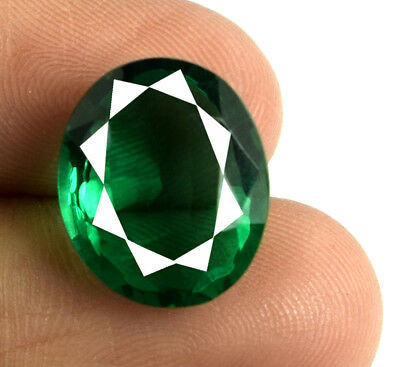 100% Natural Oval 8.40 Ct Muzo Colombian Emerald Collection AGSL Certified E5050