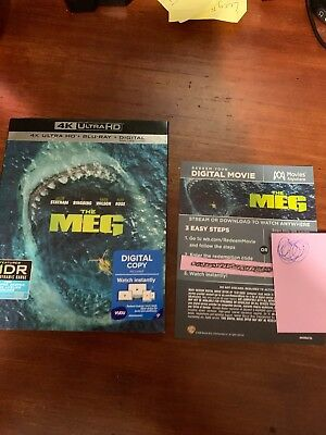 The Meg (2018) Digital HD CODE ONLY (email delivery)