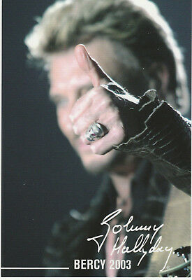 Carte  Postale  :  Johnny  Hallyday  N° 53