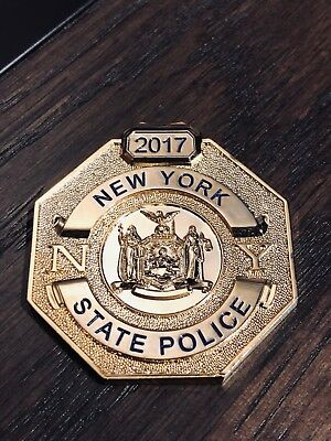 New York State Police - Shield - Challenge Coin - Trooper - NYSP - 1917