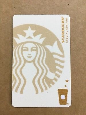 New Starbucks 2018 China Special Edition White Siren MSR Used Card