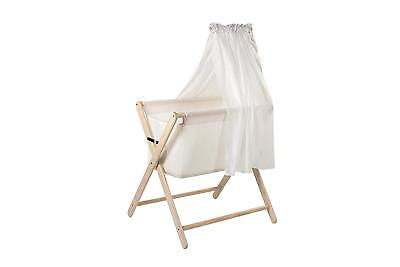Mothers Choice Coco Baby Bassinette with canopy , White Wash
